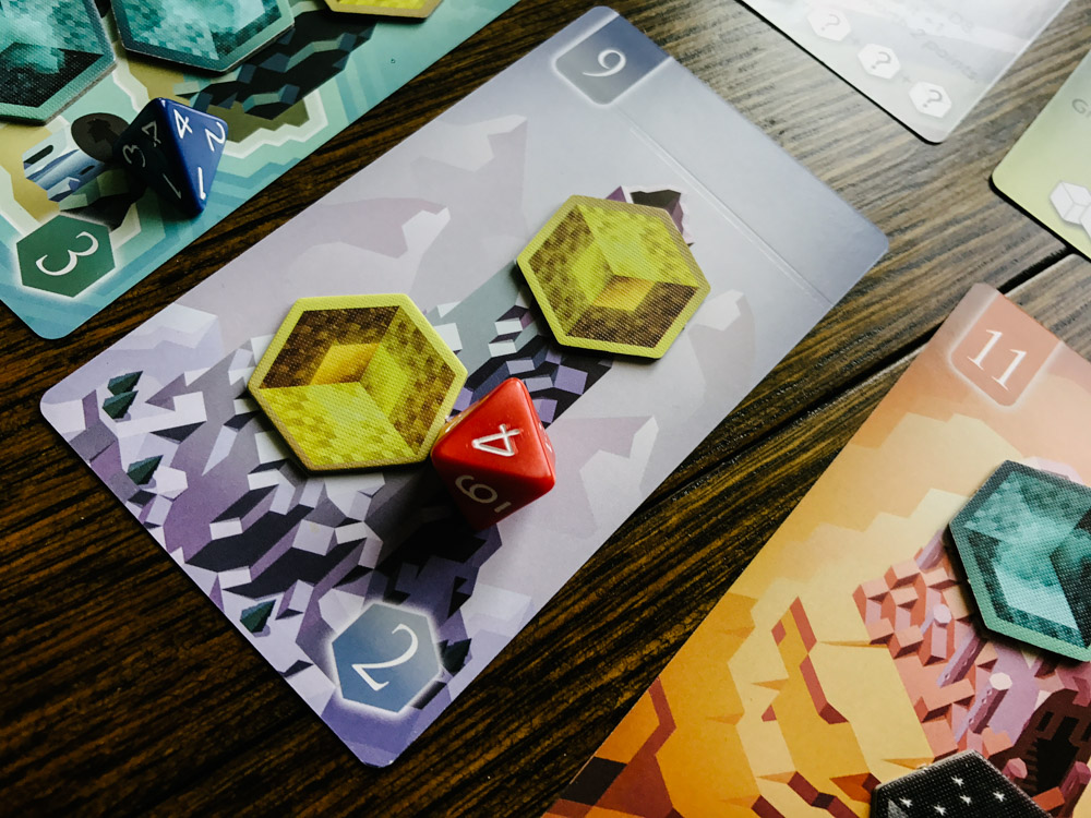 unearth card ruin and dice