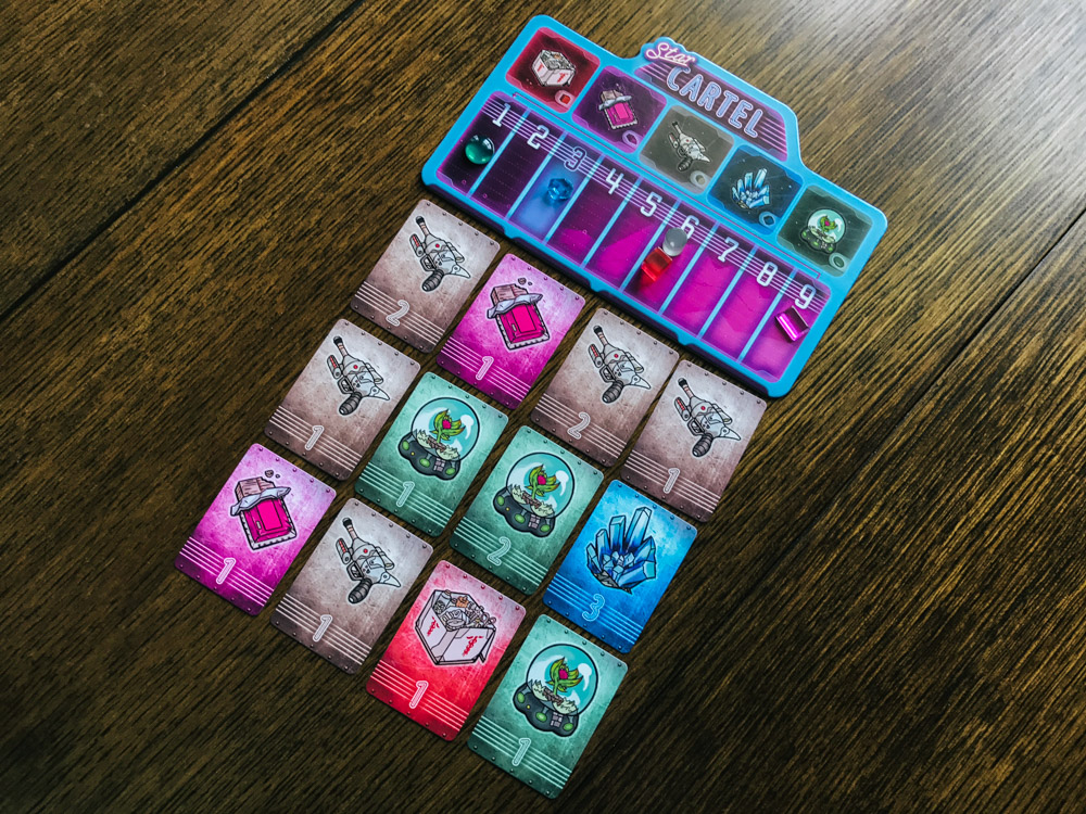 Star Cartel cards and tableau market