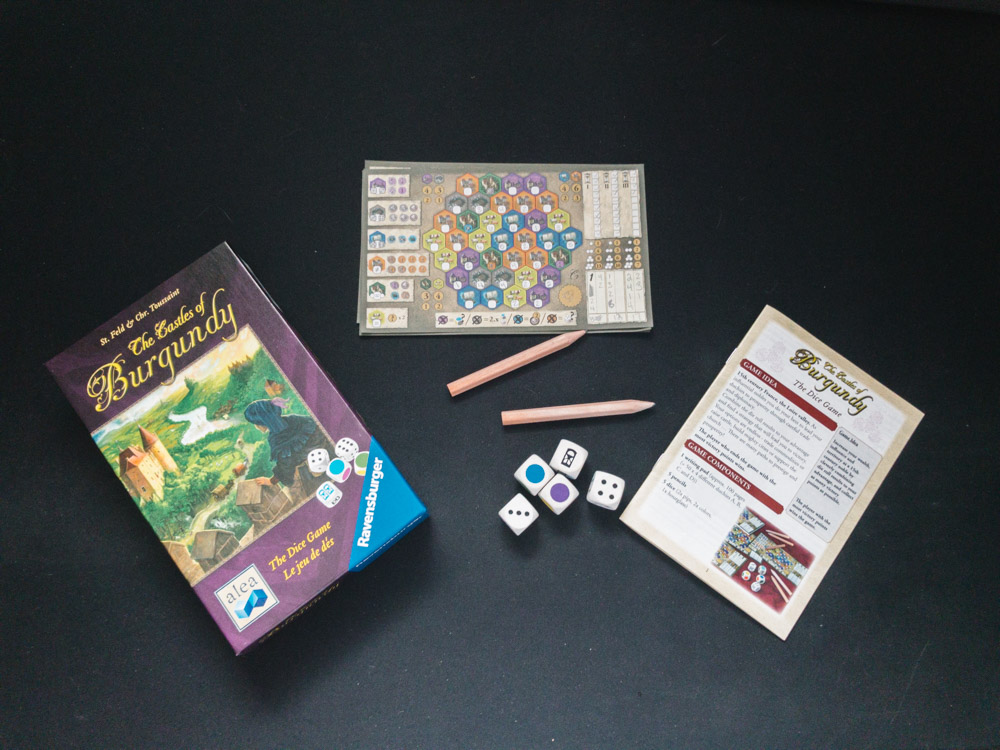 Review The Castles Of Burgundy The Dice Game