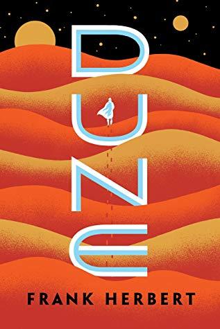 DUNE written over a red desert