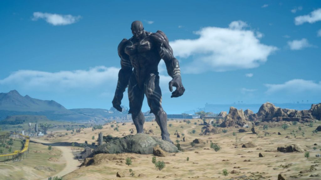 This image has an empty alt attribute; its file name is final-fantasy-xv-titan-1024x576.jpg