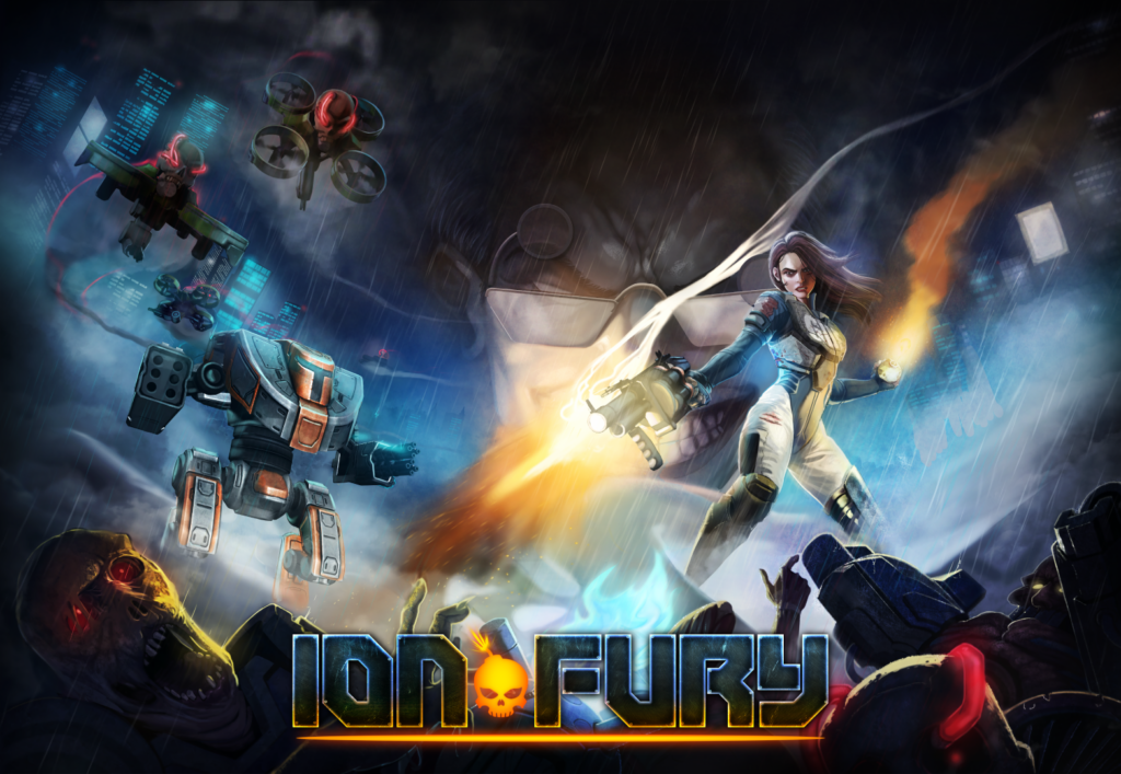 Ion Fury Box Art 2