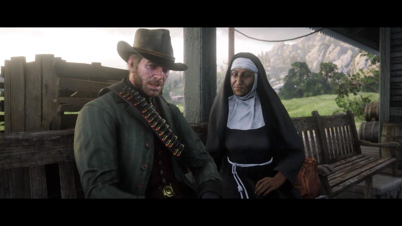arthur and the nun