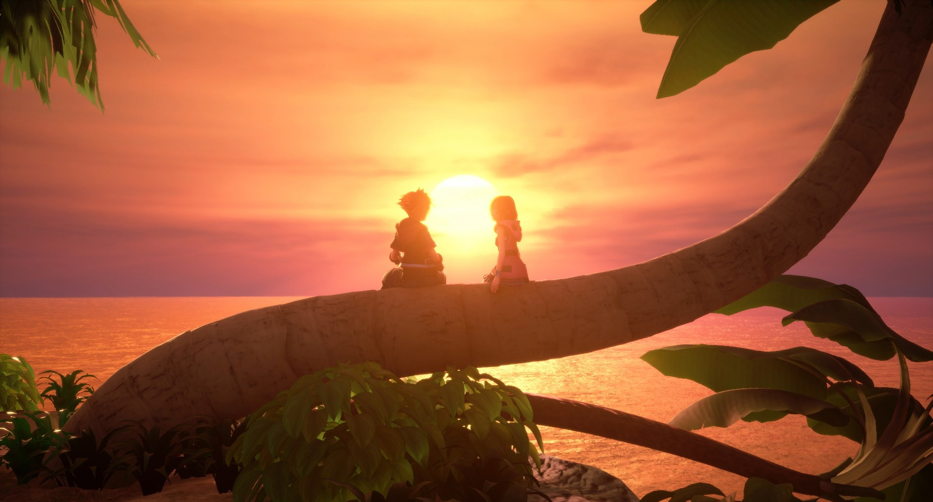 Sora and Kairi Tree