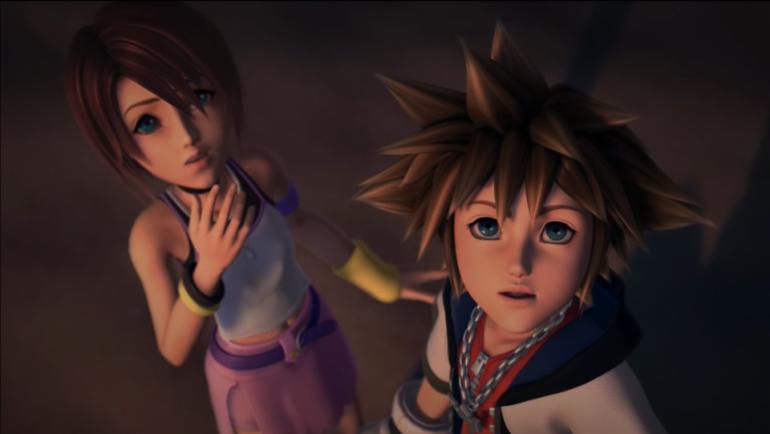 Sora and Kairi 1