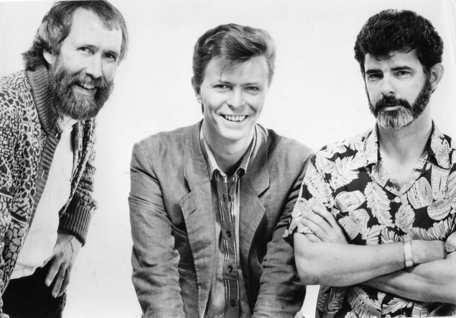 Jim Henson, David Bowie, George Lucas