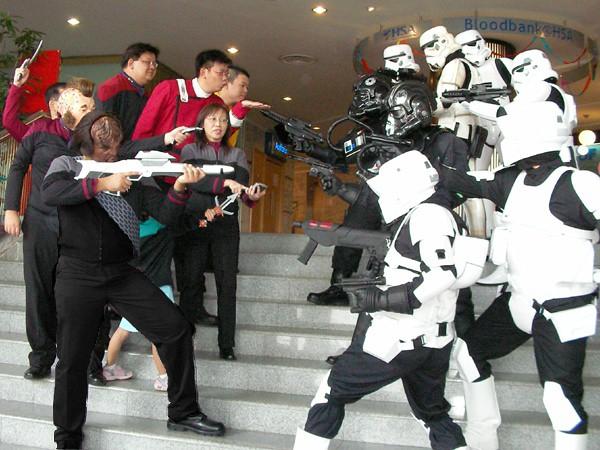 Star Wars v. Star Trek