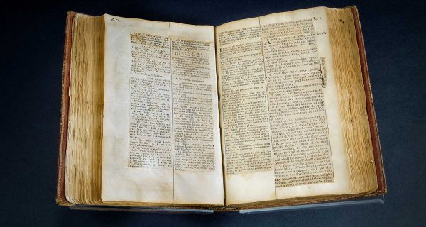 Pages of Thomas Jefferson's Bible