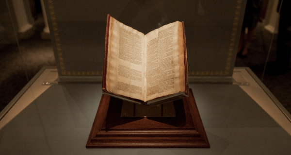 Jefferson's Bible on Display