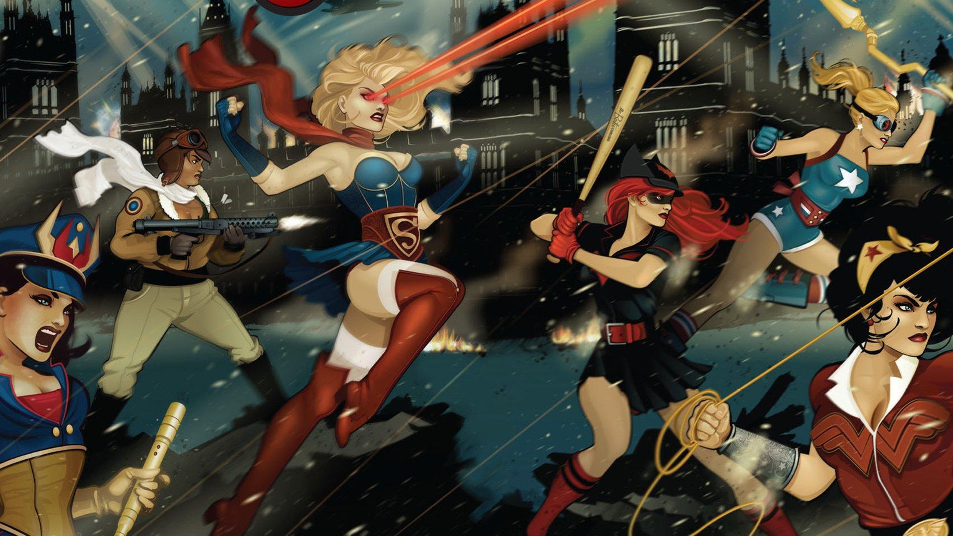 Bombshell girls head into battle