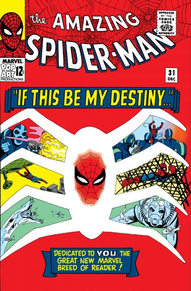 If This be My Destiny cover with snippets of Spider-Man's life