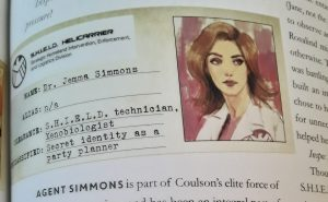 A SHIELD ID for Jemma Simmons