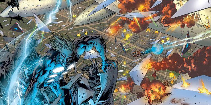 Thor vs. Chitauri