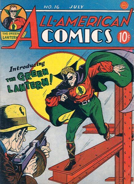 Introducing the Green Lantern