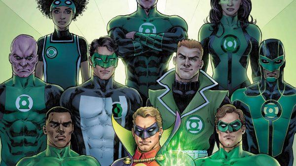 Many Green Lanterns