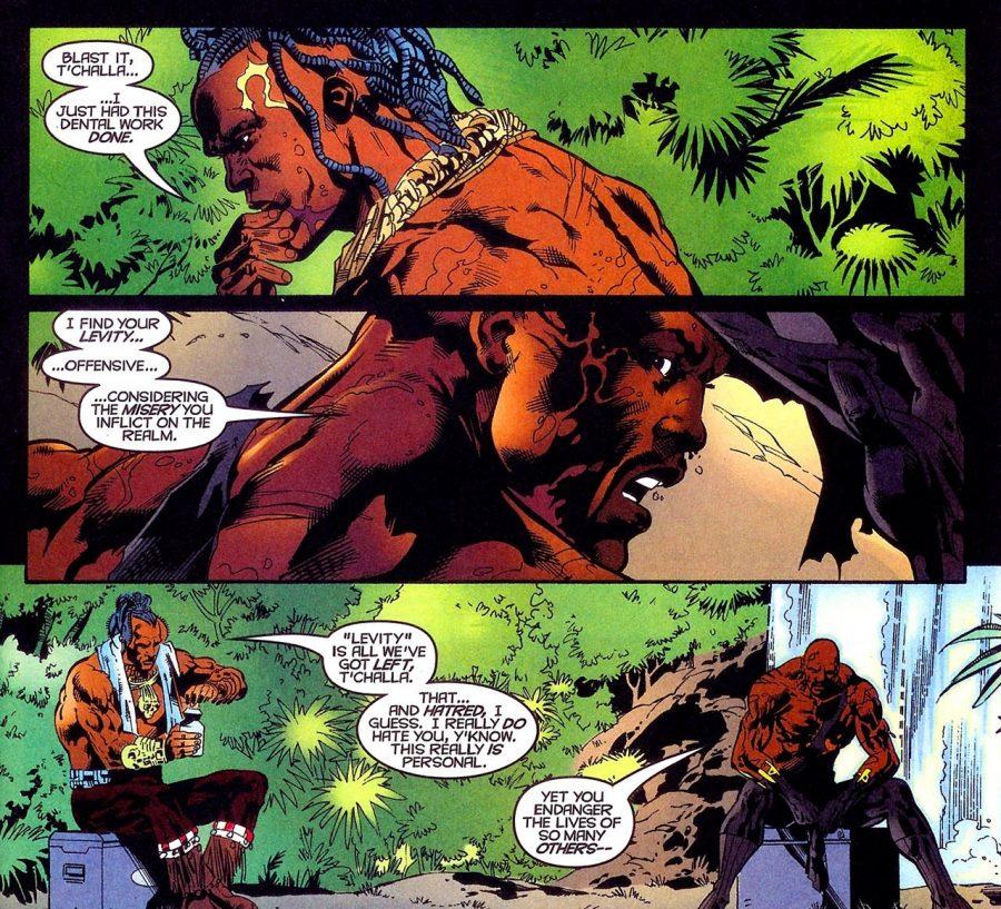 Black Panther vs. Killmonger