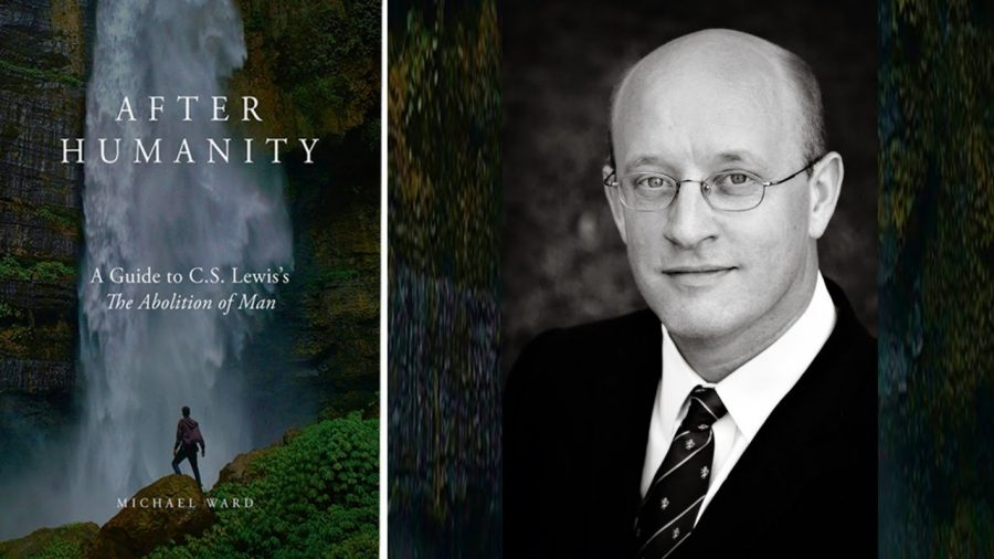 """""""After Humanity"""" and a photo of it's author Michael Ward"""