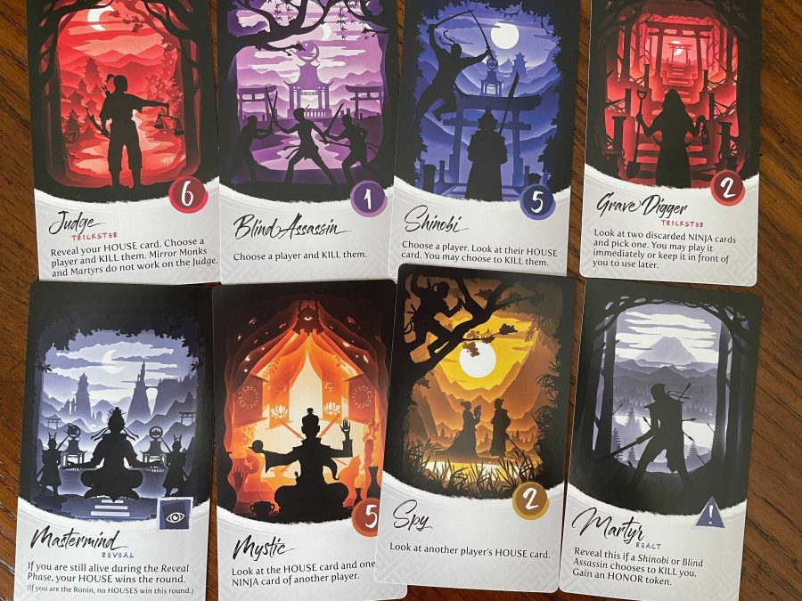 Eight Ninja Cards are shown, including at least one from each phase.